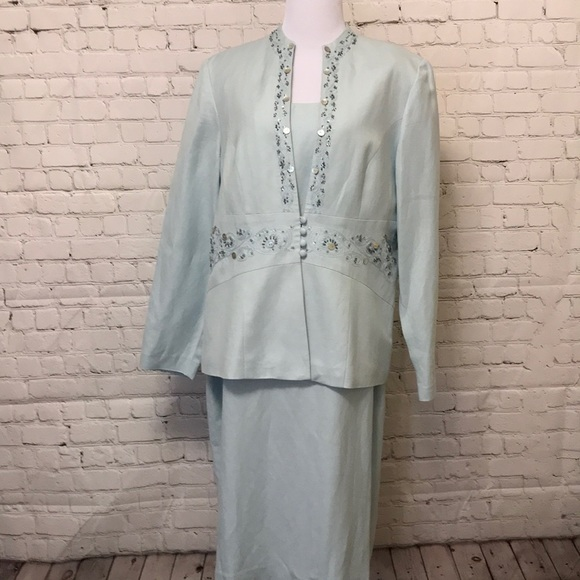 Coldwater Creek Dresses & Skirts - Coldwater Creek Dress & Embroidered Jacket.